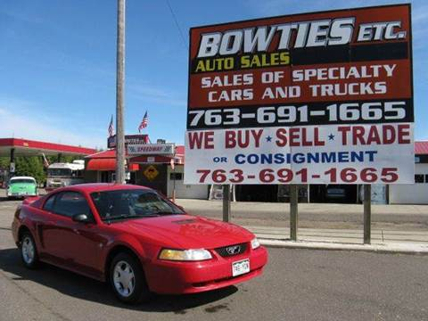1999 Ford Mustang for sale at Bowties ETC INC in Cambridge MN