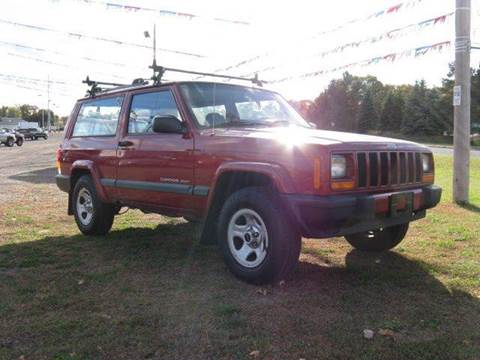 1999 Jeep Cherokee for sale at Bowties ETC INC in Cambridge MN