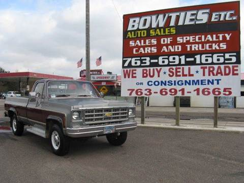 1977 Chevrolet C/K 20 Series for sale at Bowties ETC INC in Cambridge MN