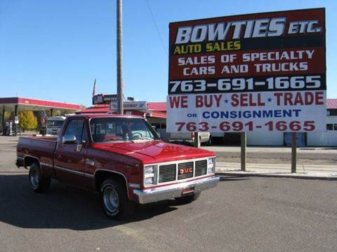 1986 GMC C/K 1500 Series for sale at Bowties ETC INC in Cambridge MN