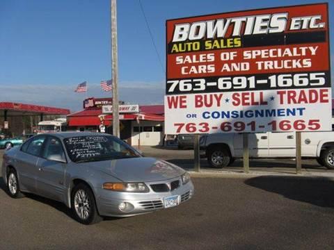 2000 Pontiac Bonneville for sale at Bowties ETC INC in Cambridge MN
