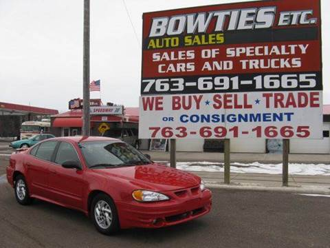 2004 Pontiac Grand Am for sale at Bowties ETC INC in Cambridge MN