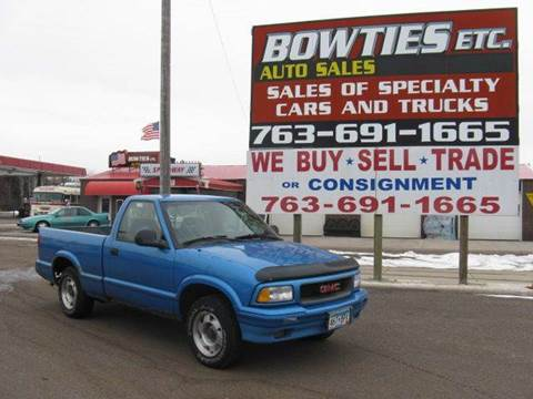1995 GMC Sonoma for sale at Bowties ETC INC in Cambridge MN