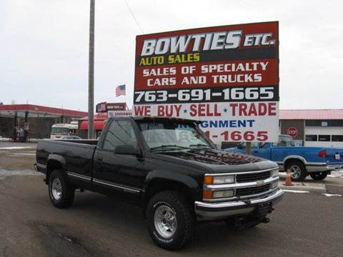 1998 Chevrolet C/K 2500 Series for sale at Bowties ETC INC in Cambridge MN