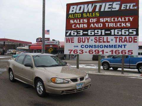 2005 Pontiac Grand Am for sale at Bowties ETC INC in Cambridge MN