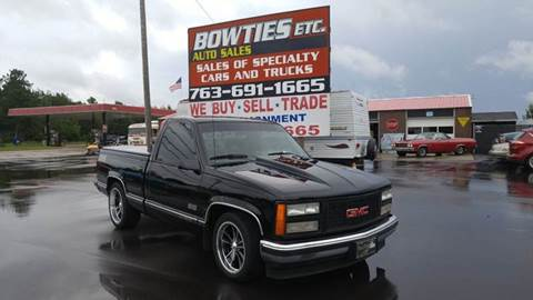 1992 GMC Sierra 1500 for sale at Bowties ETC INC in Cambridge MN