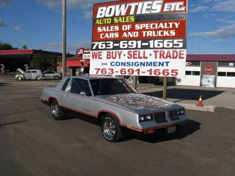 1984 Oldsmobile Cutlass Supreme for sale at Bowties ETC INC in Cambridge MN