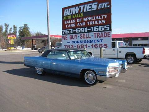 1966 Cadillac DeVille for sale at Bowties ETC INC in Cambridge MN