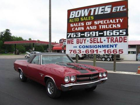 1970 Chevrolet El Camino for sale at Bowties ETC INC in Cambridge MN