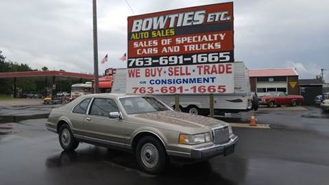 1985 Lincoln Mark VII for sale at Bowties ETC INC in Cambridge MN