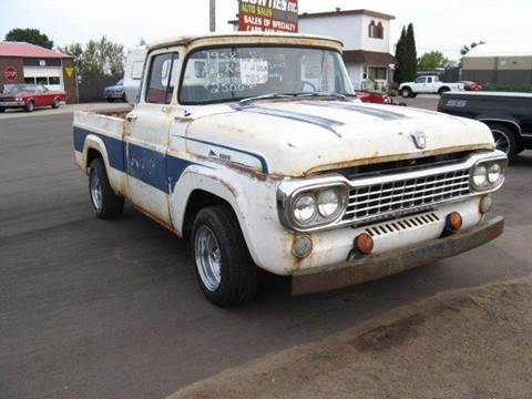 1958 Ford F-100 for sale at Bowties ETC INC in Cambridge MN