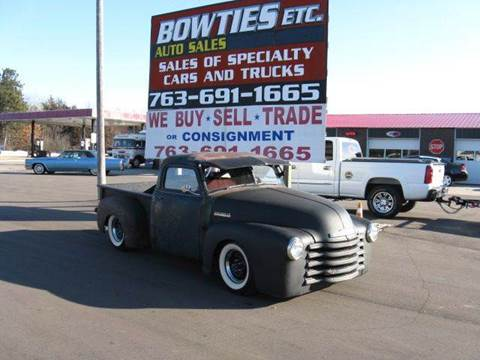 1954 Chevrolet S-10 for sale at Bowties ETC INC in Cambridge MN