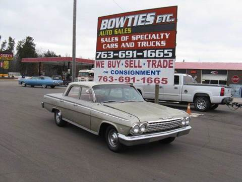 1962 Chevrolet Impala for sale at Bowties ETC INC in Cambridge MN