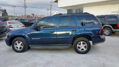2003 Chevrolet TrailBlazer for sale at Cartraxx Auto Sales in Owensboro KY
