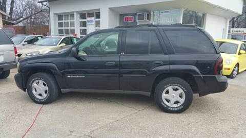 2002 Chevrolet TrailBlazer for sale at Cartraxx Auto Sales in Owensboro KY