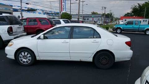 2004 Toyota Corolla for sale at Cartraxx Auto Sales in Owensboro KY