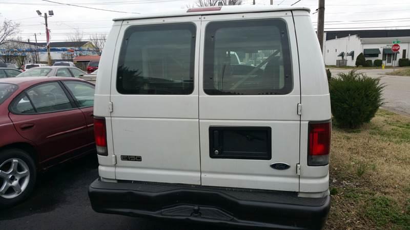 2001 Ford E-Series Cargo E-150 3dr Cargo Van - Owensboro KY