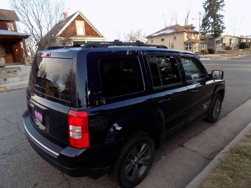2013 Jeep Patriot Latitude 4dr SUV - Denver CO