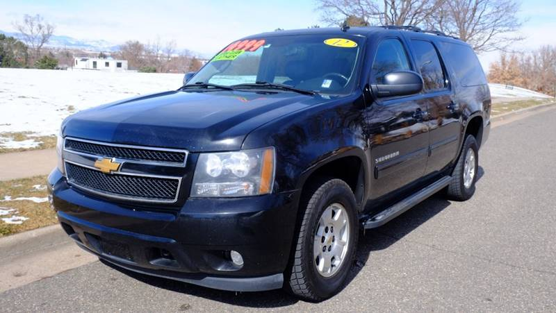 2012 Chevrolet Suburban 4x4 LT 1500 4dr SUV - Denver CO