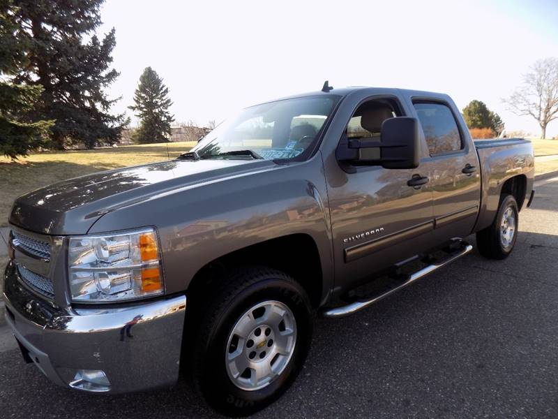 2013 Chevrolet Silverado 1500 4x4 LT 4dr Crew Cab 5.8 ft. SB - Denver CO