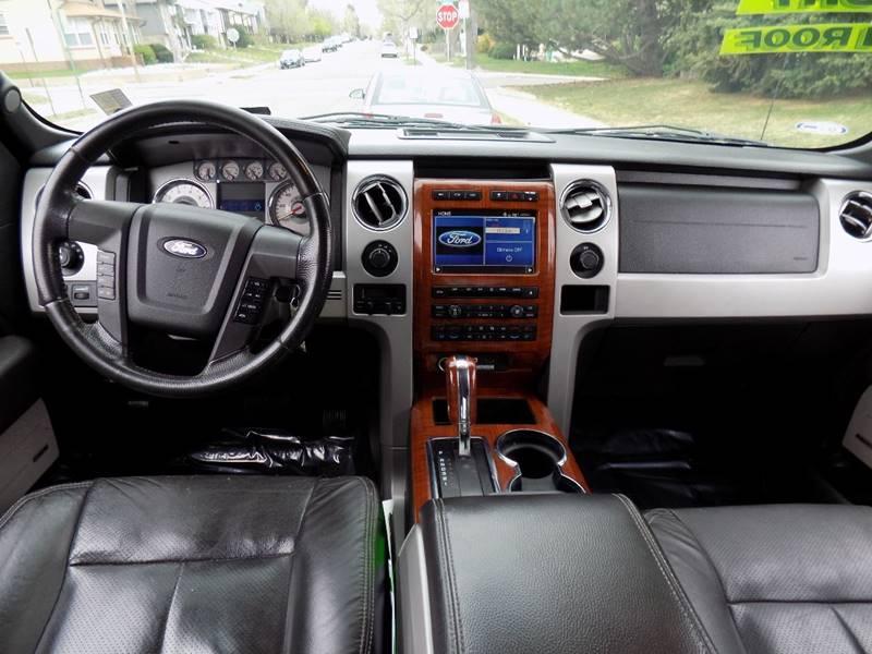2009 Ford F-150 4x4 Lariat 4dr SuperCrew Styleside 5.5 ft. SB - Denver CO