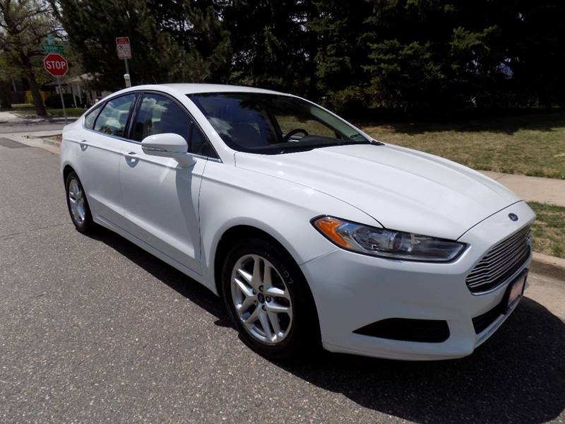 2013 Ford Fusion SE 4dr Sedan - Denver CO