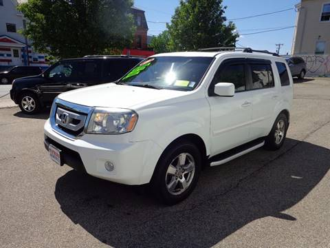 2009 Honda Pilot for sale at FRIAS AUTO SALES LLC in Lawrence MA