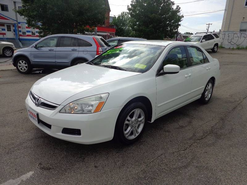 2007 Honda Accord for sale at FRIAS AUTO SALES LLC in Lawrence MA