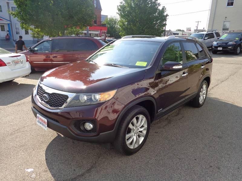 2011 Kia Sorento for sale at FRIAS AUTO SALES LLC in Lawrence MA