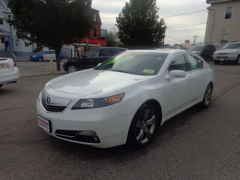 2012 Acura TL for sale at FRIAS AUTO SALES LLC in Lawrence MA