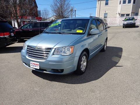 2009 Chrysler Town and Country for sale at FRIAS AUTO SALES LLC in Lawrence MA
