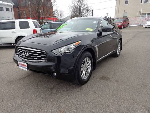 2010 Infiniti FX35 for sale at FRIAS AUTO SALES LLC in Lawrence MA