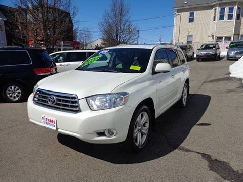 2010 Toyota Highlander for sale at FRIAS AUTO SALES LLC in Lawrence MA