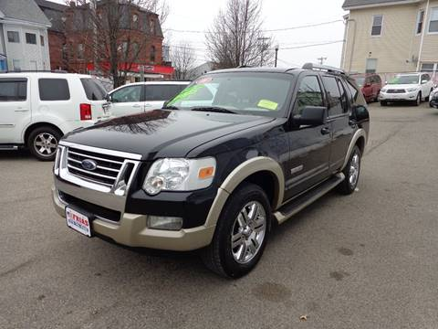 2006 Ford Explorer for sale at FRIAS AUTO SALES LLC in Lawrence MA