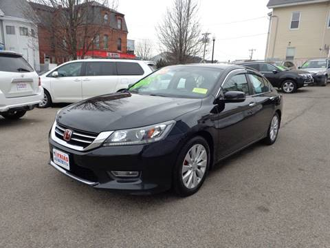 2013 Honda Accord for sale at FRIAS AUTO SALES LLC in Lawrence MA