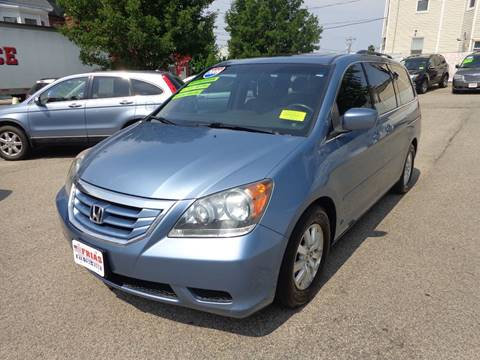 2009 Honda Odyssey for sale at FRIAS AUTO SALES LLC in Lawrence MA