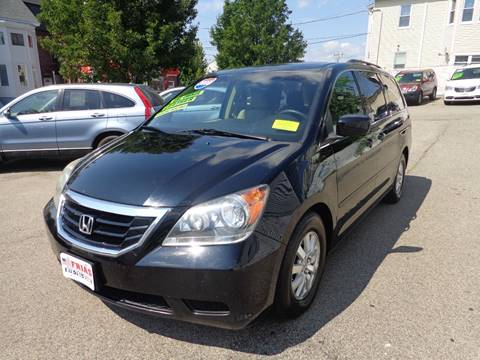 2008 Honda Odyssey for sale at FRIAS AUTO SALES LLC in Lawrence MA