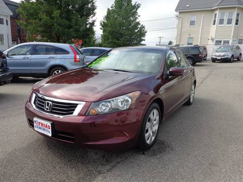 2009 Honda Accord for sale at FRIAS AUTO SALES LLC in Lawrence MA