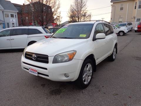 2006 Toyota RAV4 for sale at FRIAS AUTO SALES LLC in Lawrence MA