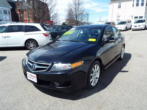 2008 Acura TSX for sale at FRIAS AUTO SALES LLC in Lawrence MA
