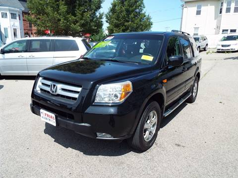 2007 Honda Pilot for sale at FRIAS AUTO SALES LLC in Lawrence MA