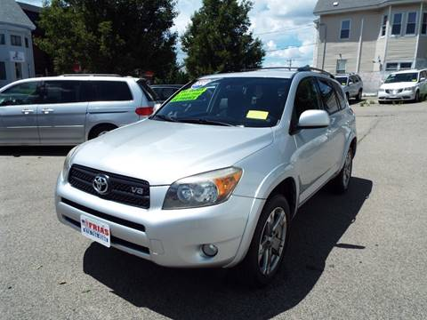 2008 Toyota RAV4 for sale at FRIAS AUTO SALES LLC in Lawrence MA