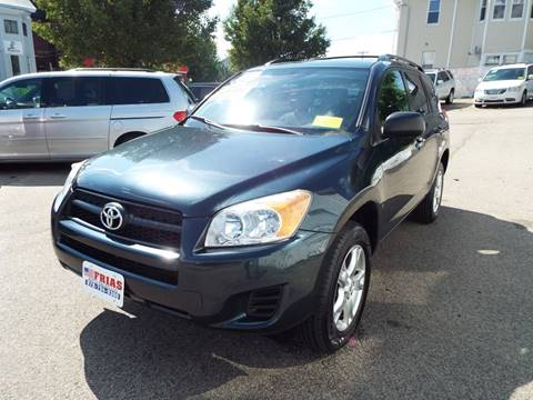 2011 Toyota RAV4 for sale at FRIAS AUTO SALES LLC in Lawrence MA