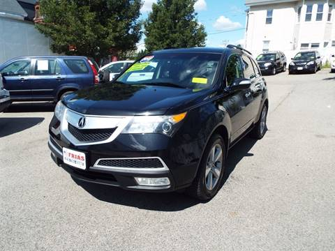 2012 Acura MDX for sale at FRIAS AUTO SALES LLC in Lawrence MA