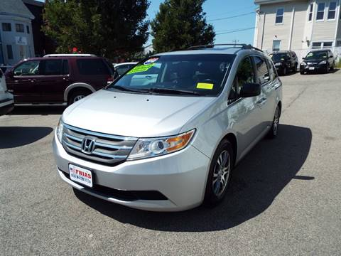 2012 Honda Odyssey for sale at FRIAS AUTO SALES LLC in Lawrence MA