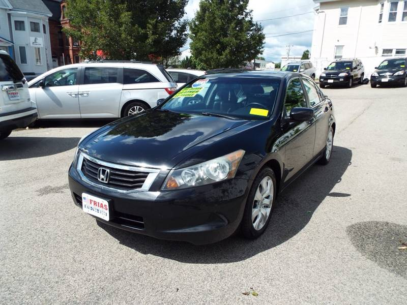 2010 Honda Accord for sale at FRIAS AUTO SALES LLC in Lawrence MA