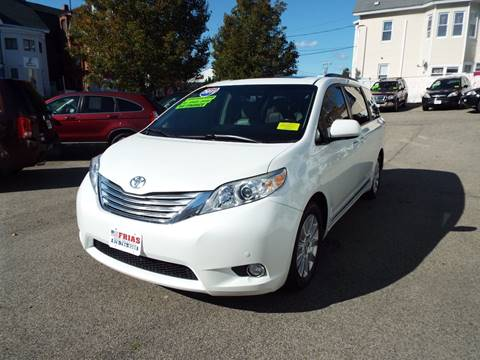 2011 Toyota Sienna for sale at FRIAS AUTO SALES LLC in Lawrence MA