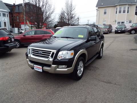 2010 Ford Explorer for sale at FRIAS AUTO SALES LLC in Lawrence MA