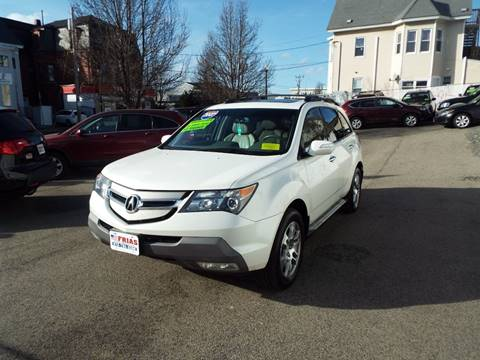 2009 Acura MDX for sale at FRIAS AUTO SALES LLC in Lawrence MA