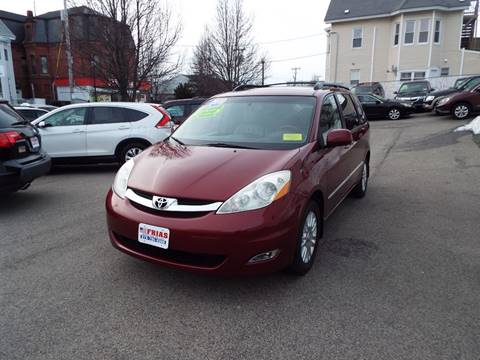 2010 Toyota Sienna for sale at FRIAS AUTO SALES LLC in Lawrence MA